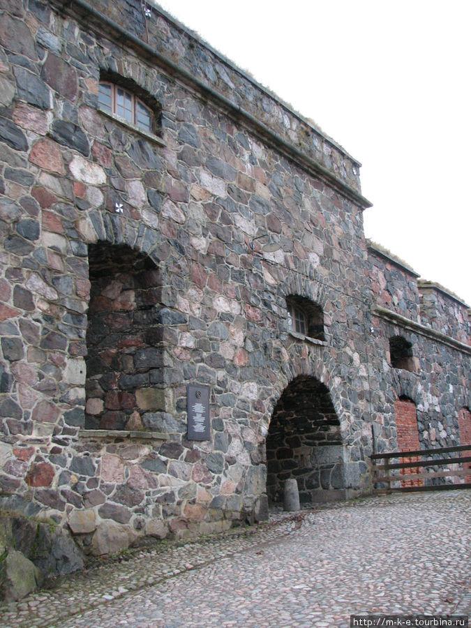 Вход в крепостной двор