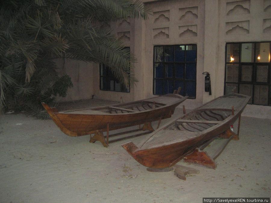 Лодки ловцов жемчуга.
