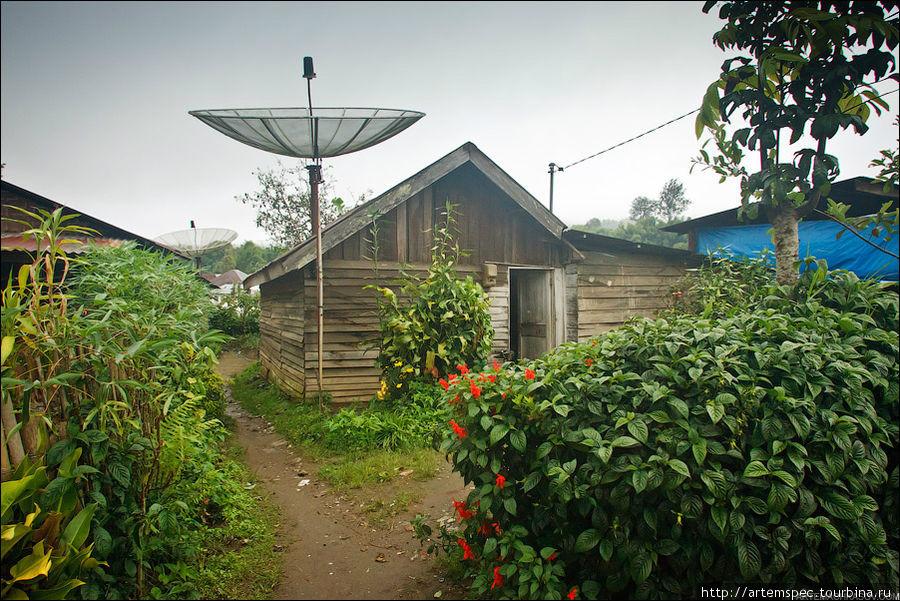 Типичное жилище пригорода Берастаги