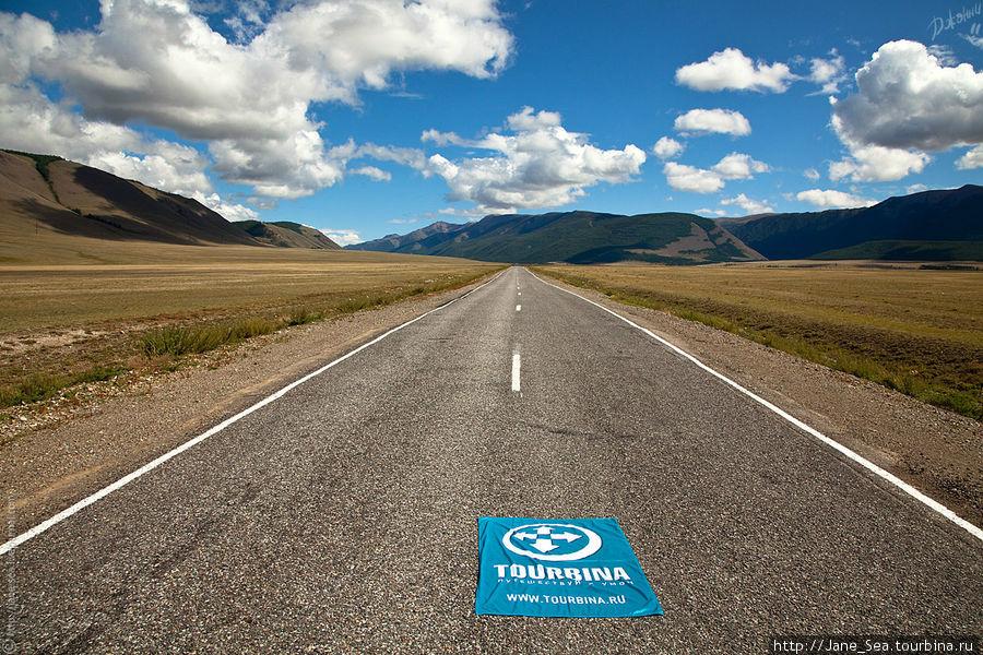 Еще километров 100 и Монголия.