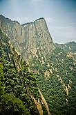 западная вершина горы Хуашань