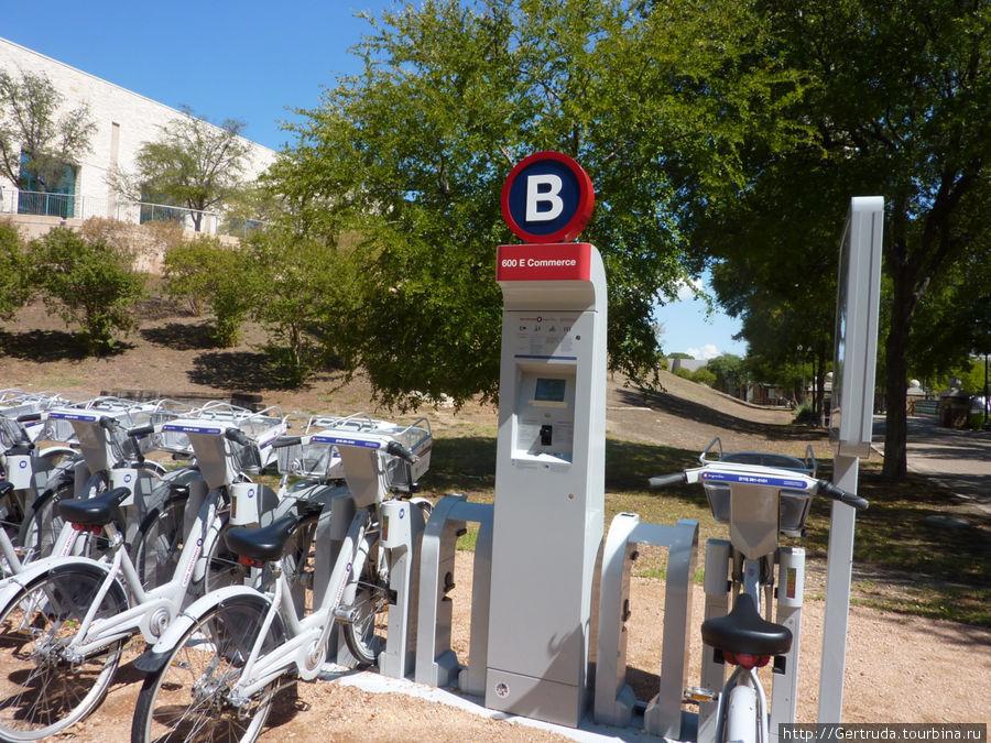 Автомат для оплаты проката велосипеда