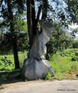 Скульптурная коллекция в нижнем парке.