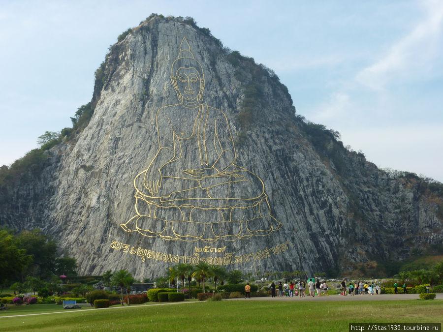 Паттайя. Священная гора Кхао Чи Чиан.