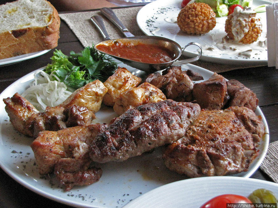 Блюдо на четверых — 5 видов мяса