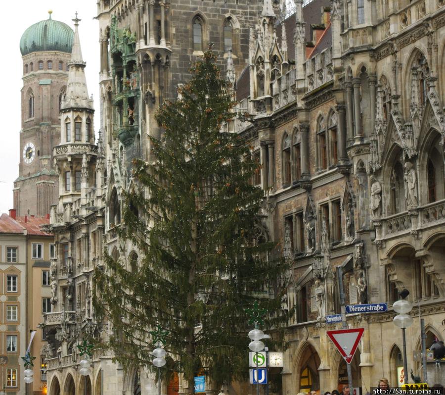 Новогодний декор немецкой елки