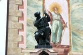 Памятник скрипичному мастеру Матиасу Клотцу (1653-1743; нем. Matthias Klotz)