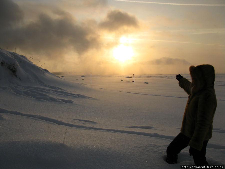 ЛАЭС подогревает воду Финского залива