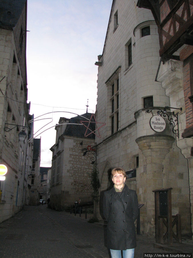 Улицы города Шинон