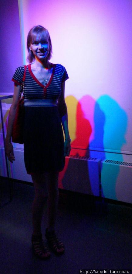 Цветные тени