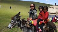 С детства – в седле. Урочище Ойранды. Киргизский хребет.