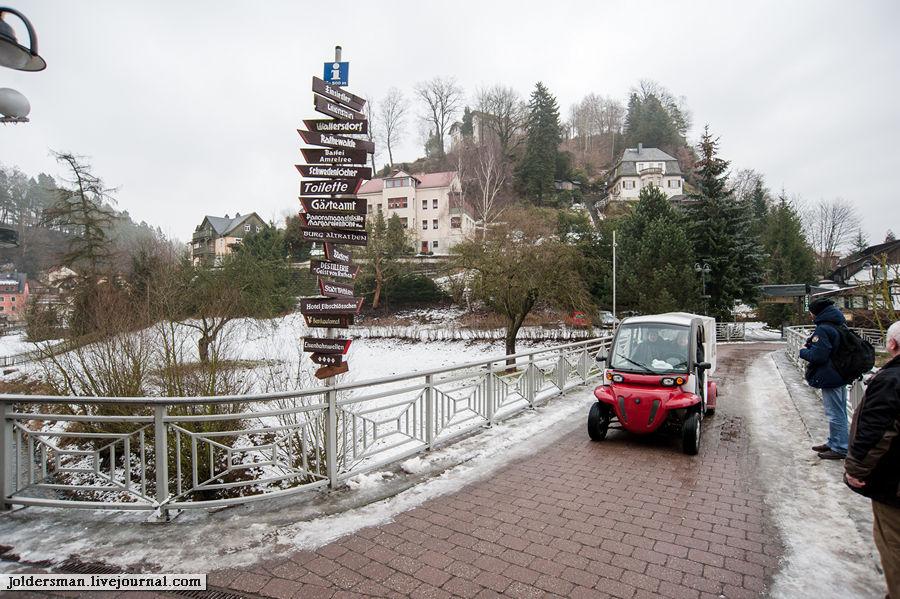 Саксонская Швейцария. Бастай Саксонская Швейцария Национальный Парк, Германия