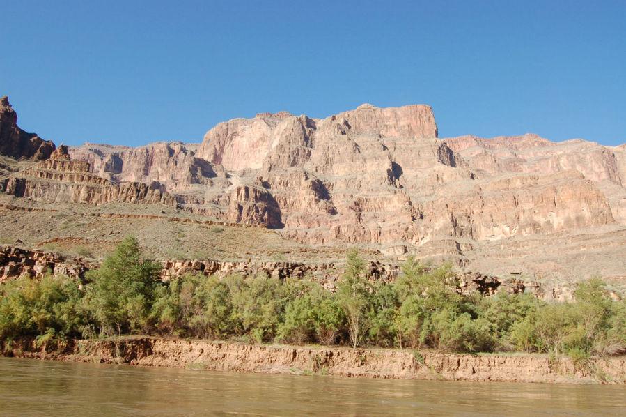 Вид с реки Колорадо