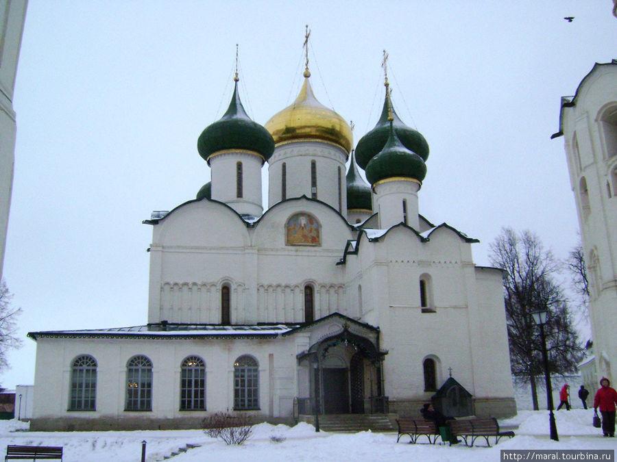 Спасо-Преображенский собор — главный храм Спасо-Евфимиева монастыря