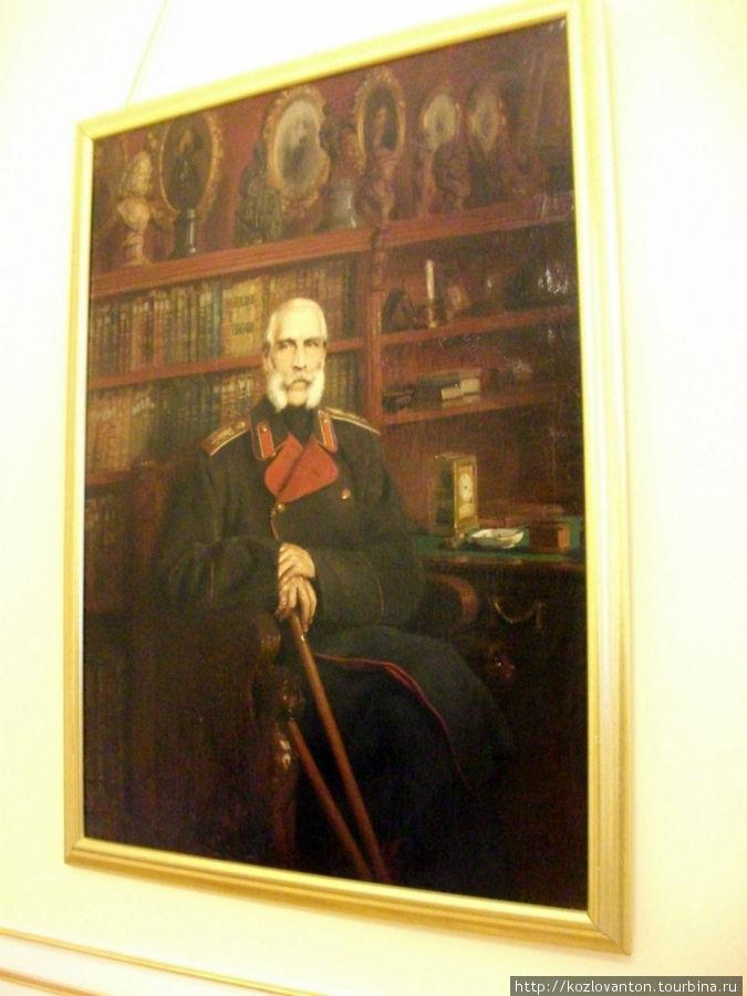 Портрет кисти К.Е.Маковского