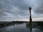 Почти что самая западная точка России — оконечность Северного мола