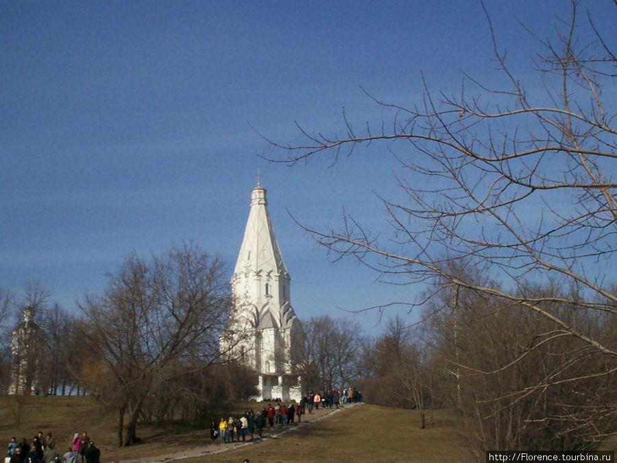 Шатровая церковь в Коломенском