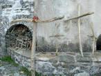 рядом со Святым источником Иверской иконы Божией Матери (монастырь Иверон)