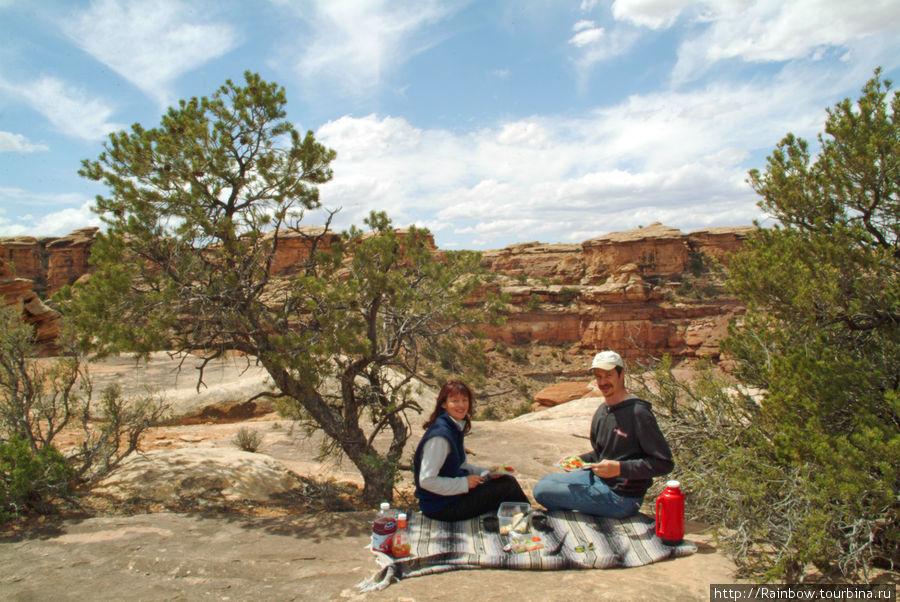 Потеряться  в каньонах Национальный парк Каньонлендс, CША