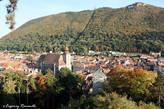 гора Тымпа, у подножья которой расположился город Брашов
