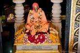 Золотое изваяние Бхактиведанты Свами Прабхупады