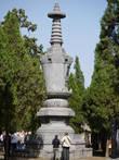 Лес пагод — место захоронения настоятелей монастыря и монахов, достигших каких-либо успехов.