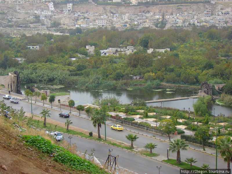Оронт Хама, Сирия