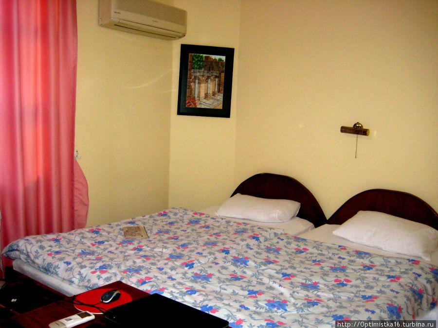 Это наша первая комната