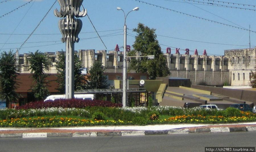 Здание автовокзала Владикавказа. 09.11
