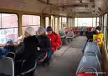 Салон трамвая.