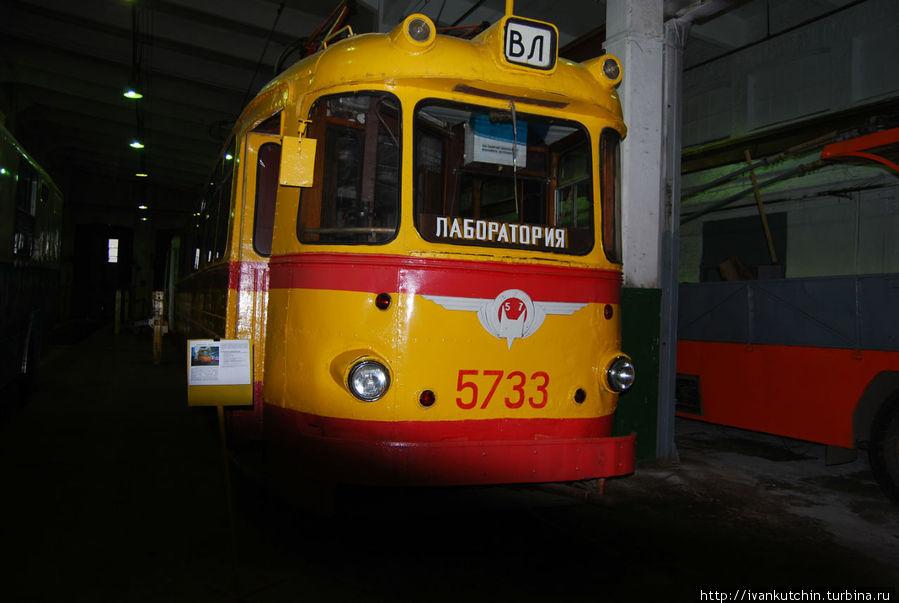Двухэтажный трамвай, были и такие