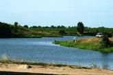Вид с правого берега р. Черная на окрестности