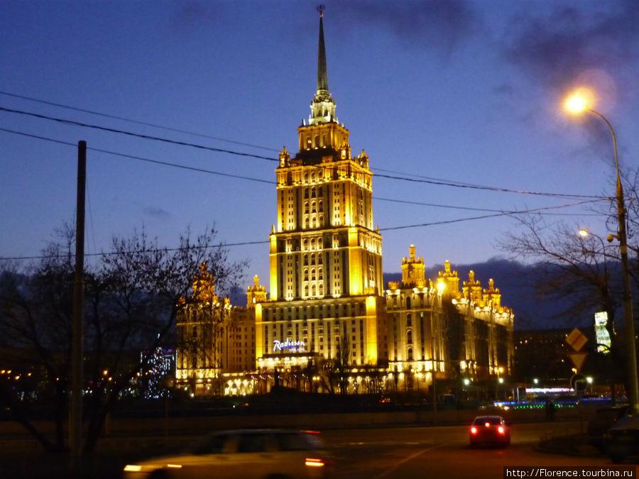 Высотное здание гостиницы Украина