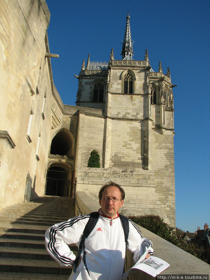 Вход в замок Амбуаз