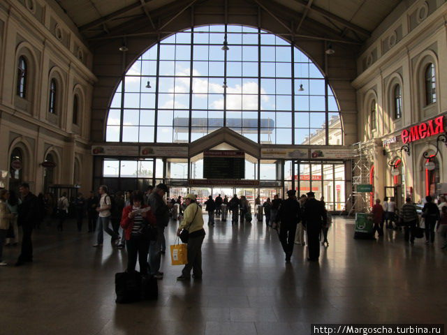 Санкт-Петербург. Балтийский вокзал.