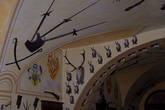 коллекции оружия Мальтийских рыцарей и охотничьи трофеи