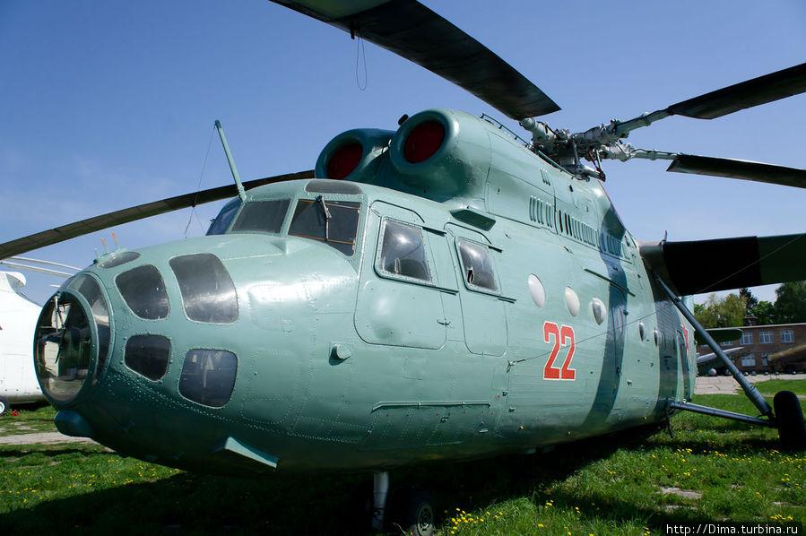 Ещё один большой вертолётик. Ми-6