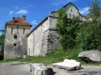 Современное состояние замок приобрел в середине XVII веке.