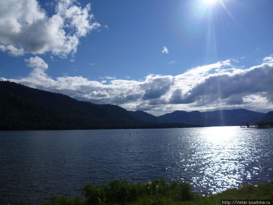 Телецкое озеро. Одна из первых фотографий!
