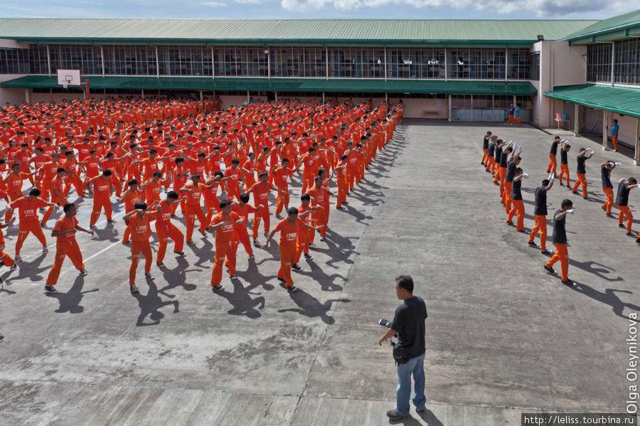 Танцующие человечки Остров Себу, Филиппины