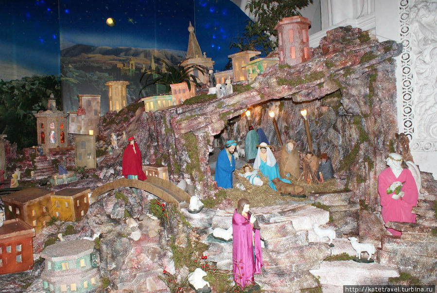 Вертеп в костёле Святых Петра и Павла