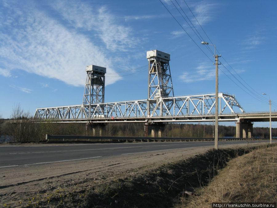Мост через Свирь — реку,