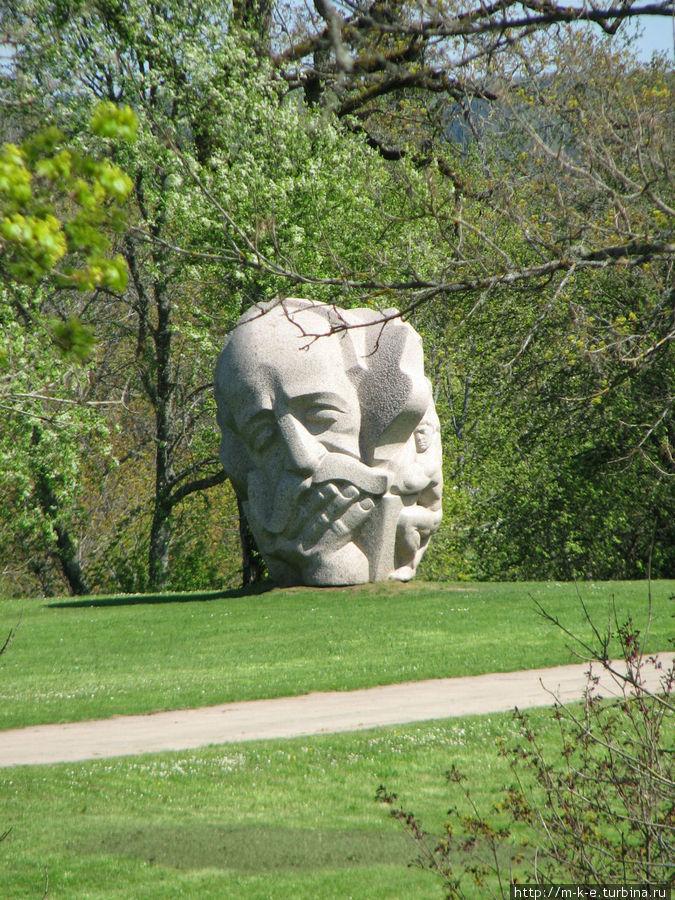 Скульптуры парка народной песни Сигулда, Латвия