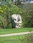 Скульптуры парка народной песни