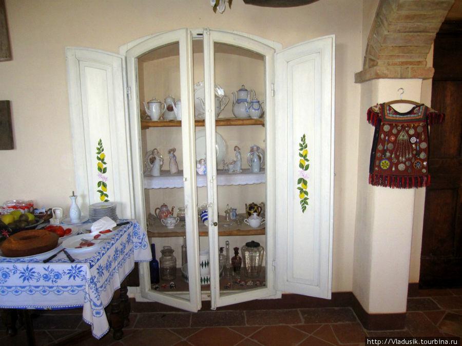 Это комната, где проходит завтрак