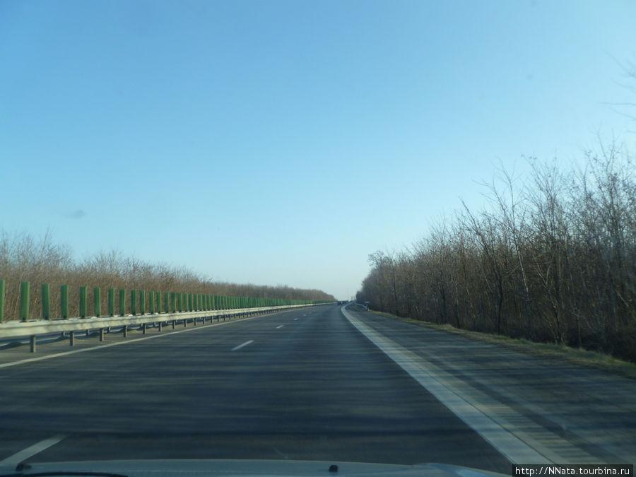Трасса Бухарест-Констанца, январь 2012 г.