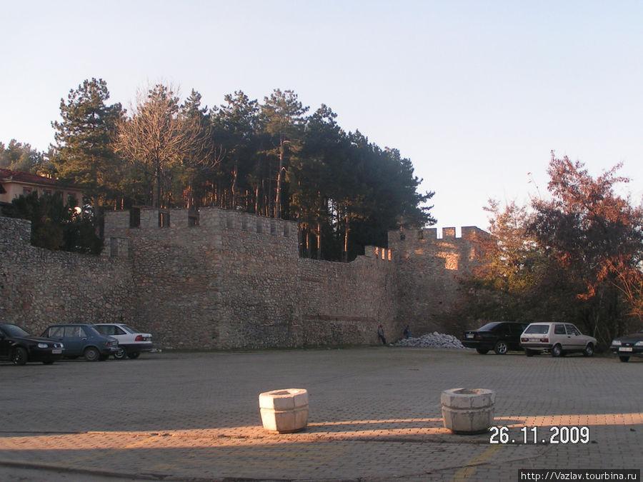 Одна из крепостных стен