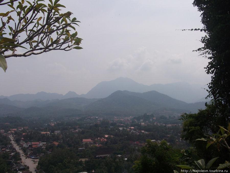 панорама Луангпрабанг