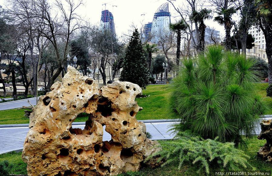 Губернаторский сад Баку, Азербайджан