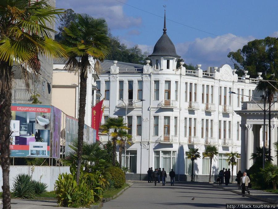 Гостиница «Рица»
